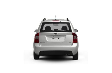 Surround Rear Profile 2010 Kia Rondo