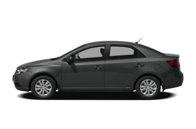 90 Degree Profile 2010 Kia Forte