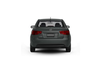 Surround Rear Profile 2010 Kia Forte
