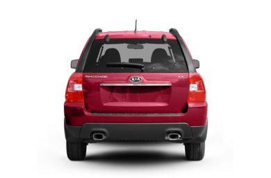 Rear Profile  2010 Kia Sportage
