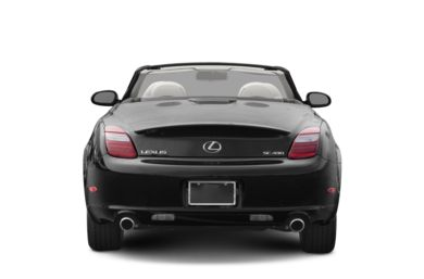 Rear Profile  2010 Lexus SC 430