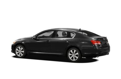 Surround 3/4 Rear - Drivers Side  2010 Lexus GS 350