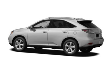Surround 3/4 Rear - Drivers Side  2010 Lexus RX 350