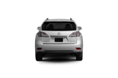 Surround Rear Profile 2010 Lexus RX 350