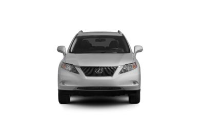 Surround Front Profile  2010 Lexus RX 350