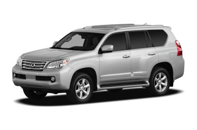 3/4 Front Glamour 2010 Lexus GX 460