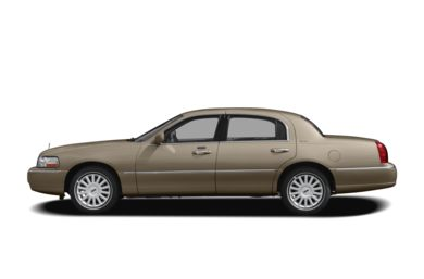 90 Degree Profile 2010 Lincoln Town Car