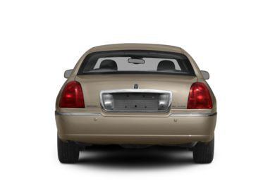 Rear Profile  2010 Lincoln Town Car