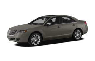 3/4 Front Glamour 2010 Lincoln MKZ