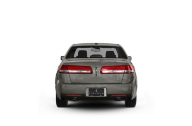 Surround Rear Profile 2010 Lincoln MKZ