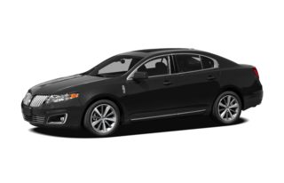 3/4 Front Glamour 2010 Lincoln MKS
