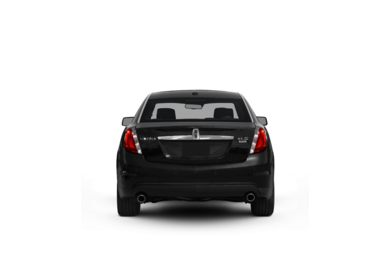 Surround Rear Profile 2010 Lincoln MKS
