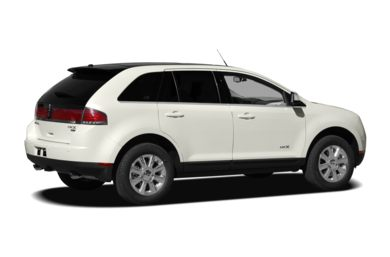 3/4 Rear Glamour  2010 Lincoln MKX