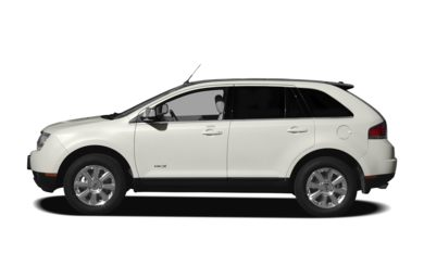 90 Degree Profile 2010 Lincoln MKX