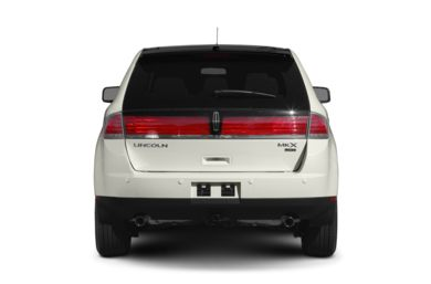 Rear Profile  2010 Lincoln MKX