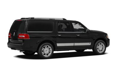 3/4 Rear Glamour  2010 Lincoln Navigator L