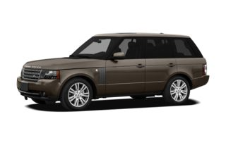 3/4 Front Glamour 2010 Land Rover Range Rover