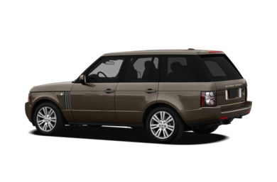 Surround 3/4 Rear - Drivers Side  2010 Land Rover Range Rover