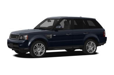 3/4 Front Glamour 2010 Land Rover Range Rover Sport