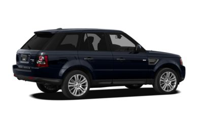 3/4 Rear Glamour  2010 Land Rover Range Rover Sport