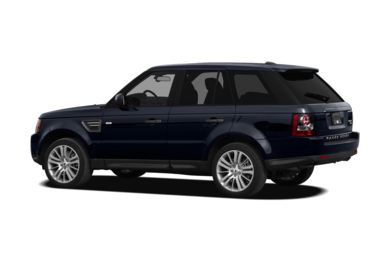 Surround 3/4 Rear - Drivers Side  2010 Land Rover Range Rover Sport