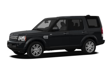 3/4 Front Glamour 2010 Land Rover LR4