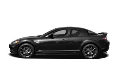 90 Degree Profile 2010 Mazda RX-8