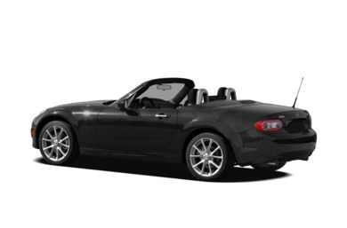 Surround 3/4 Rear - Drivers Side  2010 Mazda MX-5 Miata