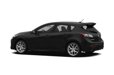 Surround 3/4 Rear - Drivers Side  2010 Mazda MAZDASPEED3