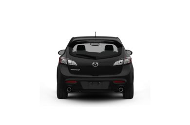 Surround Rear Profile 2010 Mazda MAZDASPEED3