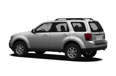 Surround 3/4 Rear - Drivers Side  2010 Mazda Tribute