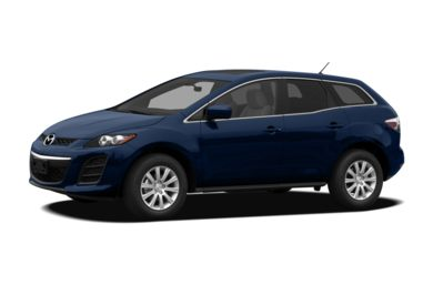3/4 Front Glamour 2010 Mazda CX-7