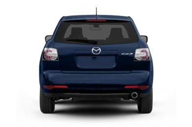 Rear Profile  2010 Mazda CX-7
