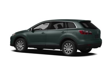 Surround 3/4 Rear - Drivers Side  2010 Mazda CX-9