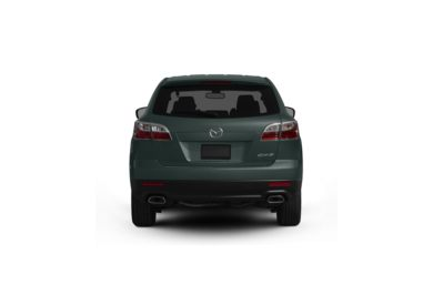 Surround Rear Profile 2010 Mazda CX-9
