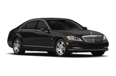 3/4 Front Glamour 2010 Mercedes-Benz S600