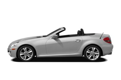 90 Degree Profile 2010 Mercedes-Benz SLK350