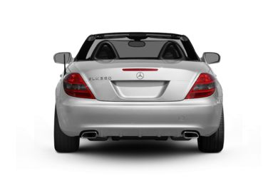 Rear Profile  2010 Mercedes-Benz SLK350