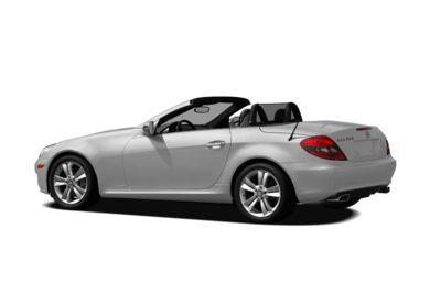 Surround 3/4 Rear - Drivers Side  2010 Mercedes-Benz SLK350
