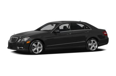 3/4 Front Glamour 2010 Mercedes-Benz E350