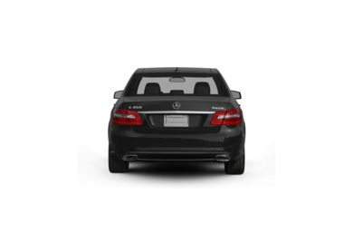 Surround Rear Profile 2010 Mercedes-Benz E350