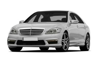 3/4 Front Glamour 2010 Mercedes-Benz S65 AMG