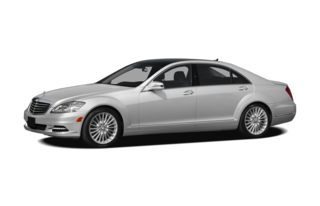 3/4 Front Glamour 2010 Mercedes-Benz S550