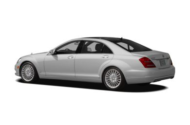 Surround 3/4 Rear - Drivers Side  2010 Mercedes-Benz S550