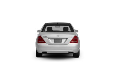 Surround Rear Profile 2010 Mercedes-Benz S550