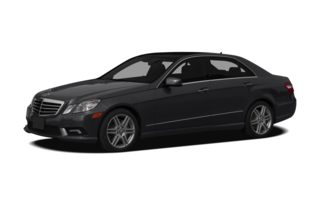 3/4 Front Glamour 2010 Mercedes-Benz E550
