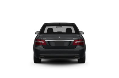 Surround Rear Profile 2010 Mercedes-Benz E550
