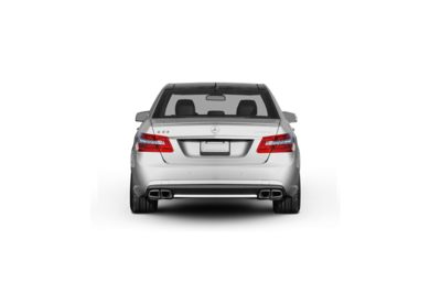 Surround Rear Profile 2010 Mercedes-Benz E63 AMG