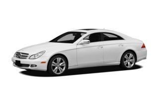 3/4 Front Glamour 2010 Mercedes-Benz CLS550