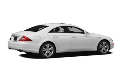 3/4 Rear Glamour  2010 Mercedes-Benz CLS550